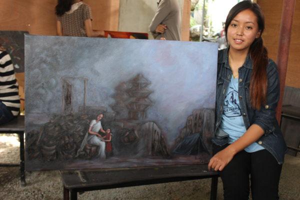 pranisha-gurung-artist-with-painting-1