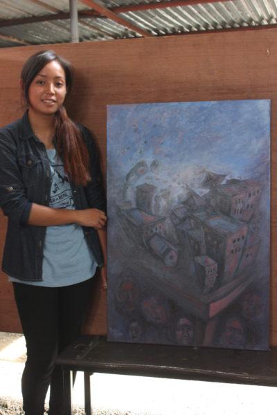 pranisha-gurung-artist-with-painting-2